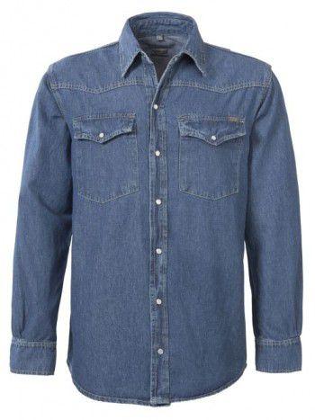 2.353-brams-paris-brad-a54-blue-denim-jeans-blouse