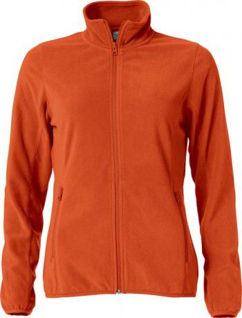 023915-17-clique-basic-micro-fleece-jacket-ladies-diep-oranje