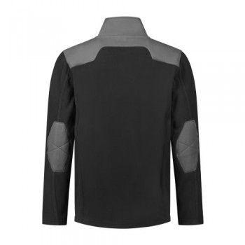 santino-fleecejack-trento-2-color-line-zwart-grijs-achterzijde
