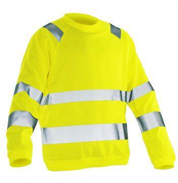 jobman-hi-vis-sweatshirt-neon-geel
