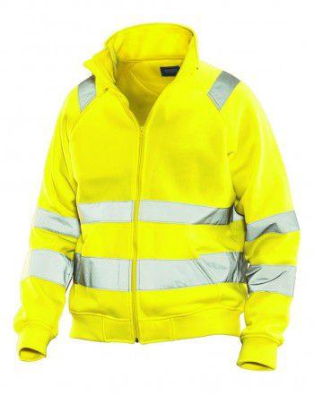 5172-jobman-full-zip-sweater-kl3-hi-vis-neon-geel