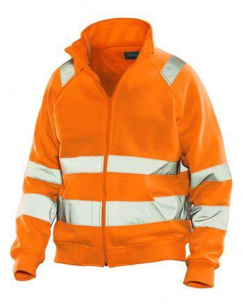 5172-jobman-full-zip-sweater-kl3-hi-vis-neon-oranje