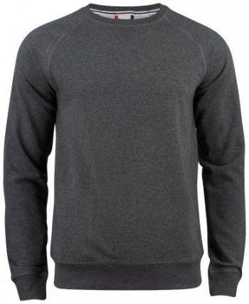 021000-955-clique-premium-organic-cotton-roundneck-antraciet-melange