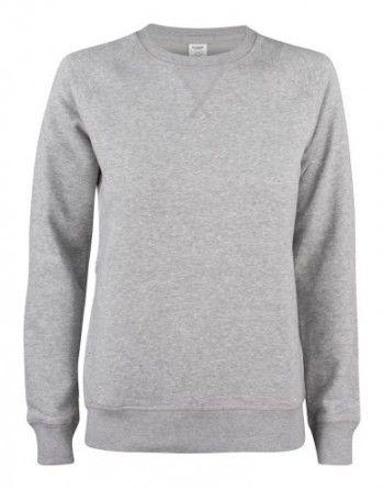 021001-95-clique-premium-organic-cotton-roundneck-ladies-grijs-melange