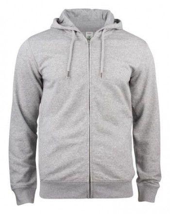 021004-95-clique-premium-organic-cotton-hoody-full-zip-grijs-melange