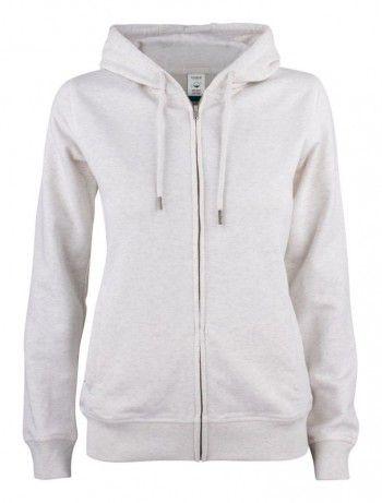 021005-925-clique-premium-organic-cotton-hoody-full-zip-ladies-nature-melange