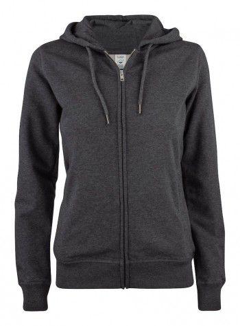 021005-955-clique-premium-organic-cotton-hoody-full-zip-ladies-antraciet-melange