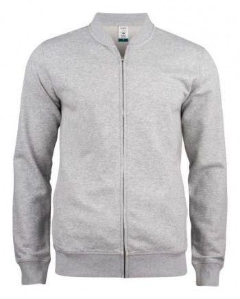 021006-95-clique-premium-organic-cotton-cardigan-grijs-melange