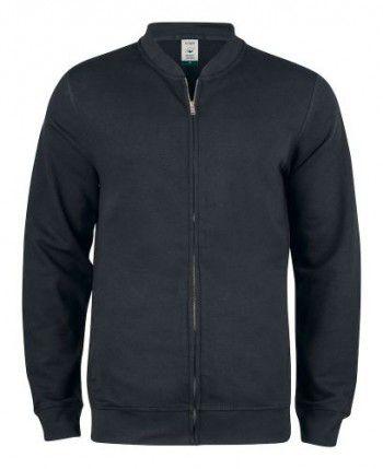 021006-99-clique-premium-organic-cotton-cardigan-zwart