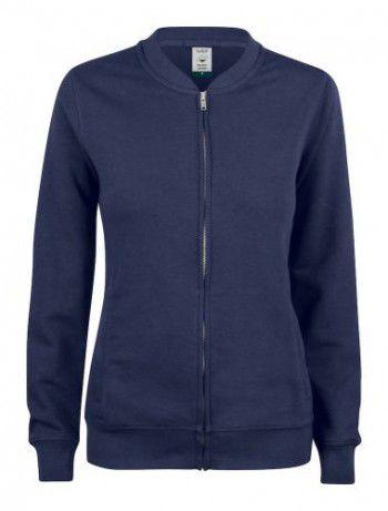 021007-580-clique-premium-organic-cotton-cardigan-ladies-donker-blauw