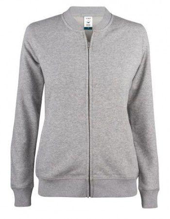 021007-95-clique-premium-organic-cotton-cardigan-ladies-grijs-melange