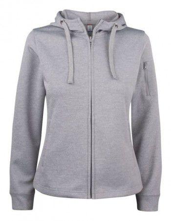 021015-95-clique-basic-active-hoody-full-zip-ladies-grijs-melange