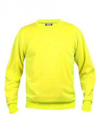 021030-11-Clique-Basic-Sweater-Signaal-Geel