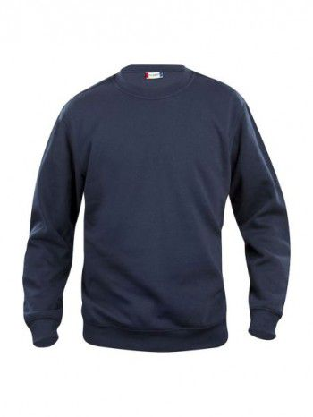 021030-580-Clique-Basic-Sweater-Roundneck-Donker-Blauw