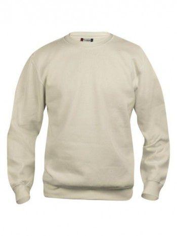 021030-815-Clique-Basic-Sweater-Roundneck-Licht-Khaki