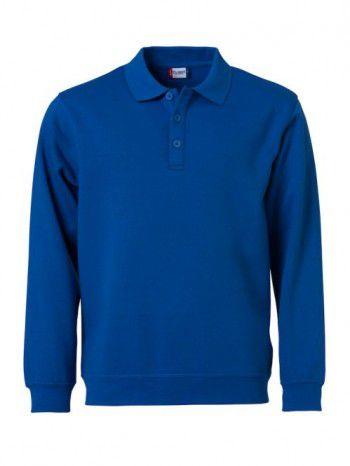 021032 55 Clique Polo Basic Sweater Kobalt