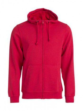 021034-35-clique-basic-hoody-fullzip-heren-rood