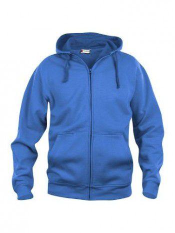 021034-55-clique-basic-hoody-fullzip-heren-kobalt