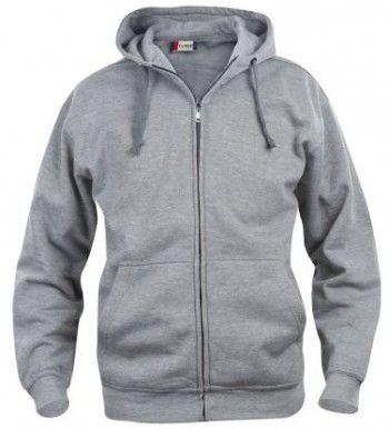 021034-95-clique-basic-hoody-fullzip-heren-grijs-melange