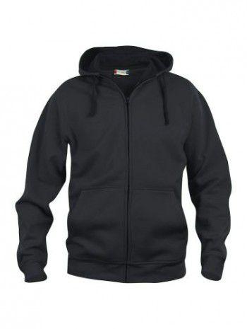 021034-99-clique-basic-hoody-fullzip-heren-zwart.