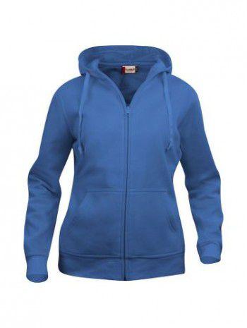 021035-55-clique-basic-hoody-fullzip-dames-kobalt
