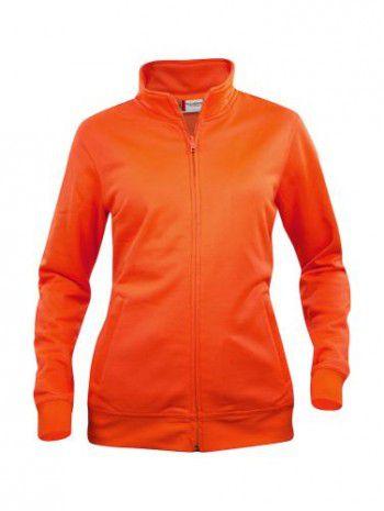 021039-170-clique-basic-cardigan-dames-signaal-oranje-high-visability