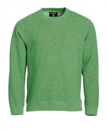 021040-676-clique-classic-roundneck-appel-groen-melange