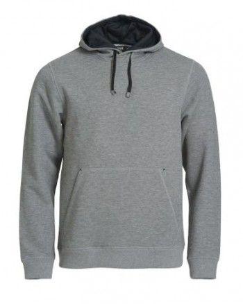 021041/021041-95-clique-classic-hoody-grijs-melange-zwart