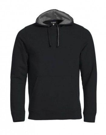 021041-99-clique-classic-hoody-zwart-grijs