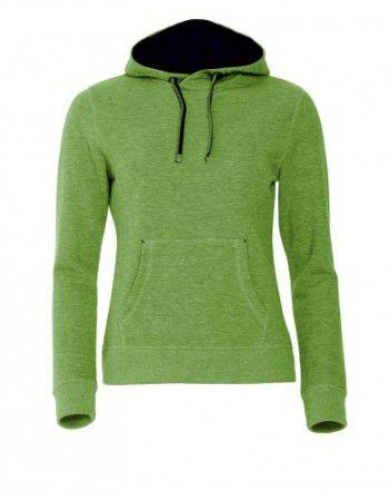 021042-676-clique-classic-hoody-ladies-appel-groen-melange-zwart