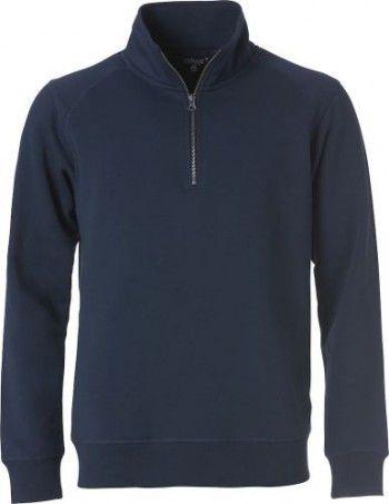 021043-580-clique-classic-half-zip-donker-blauw