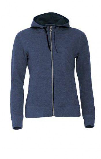 021045-565-clique-classic-hoody-full-zipp-ladies-blauw-melange-zwart