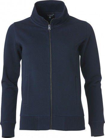 021049-580-clique-classic-cardigan-ladies-donker-blauw