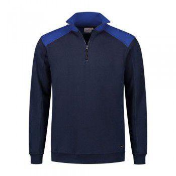 santino-zipsweater-tokyo-donkerblauw-royalblauw