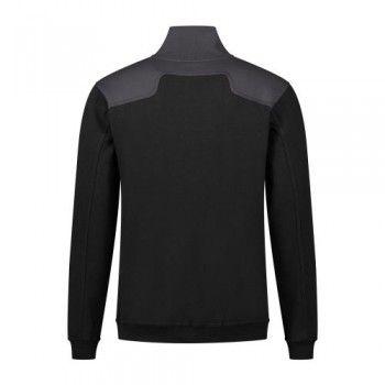 santino-zipsweater-tokyo-zwart-grijs-achterzijde
