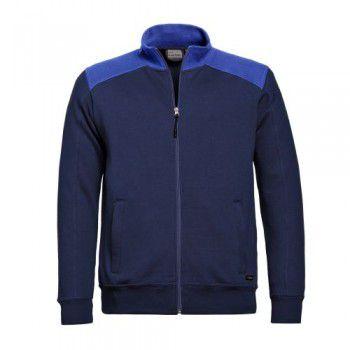 santino-sweatjack-toronto-donkerblauw-royalblauw