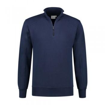santino-roswell-zip-sweater-basic-line-donkerblauw