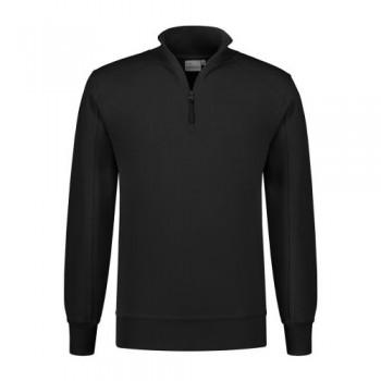 santino-roswell-zip-sweater-basic-line-zwart