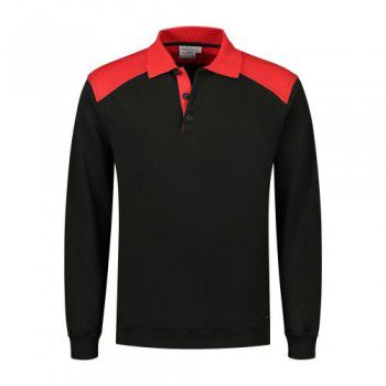 santino-polo-sweater-tesla-zwart-rood