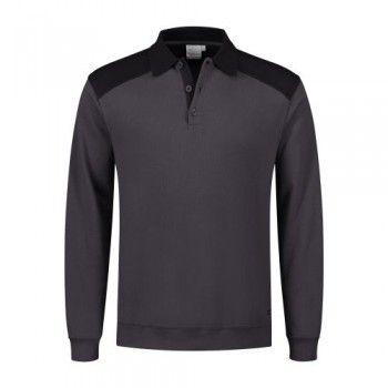 santino-polo-sweater-teslap-grijs-zwart