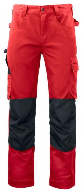 5532-projob-broek-met-knie-zakken-rood