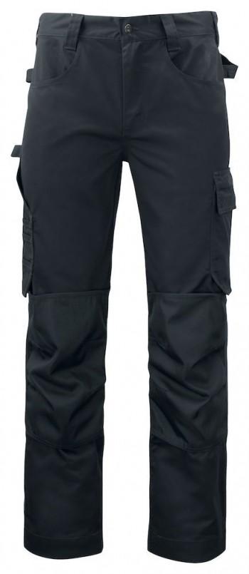 5532-projob-broek-met-knie-zakken-werkbroek-zwart