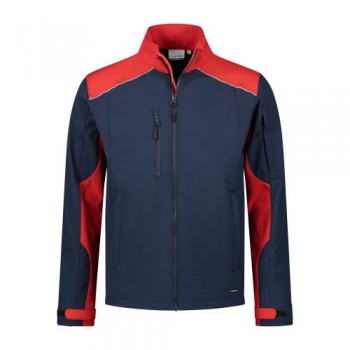 santino-softshell-jack-tour-2-color-line-donkerblauw-rood