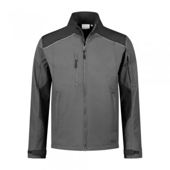 santino-softshell-jack-tour-2-color-line-grijs-zwart