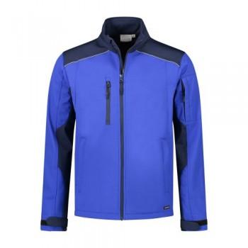 santino-softshell-jack-tour-2-color-line-royalblauw-donkerblauw