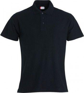028230 99 Clique Basic Polo Heren Zwart