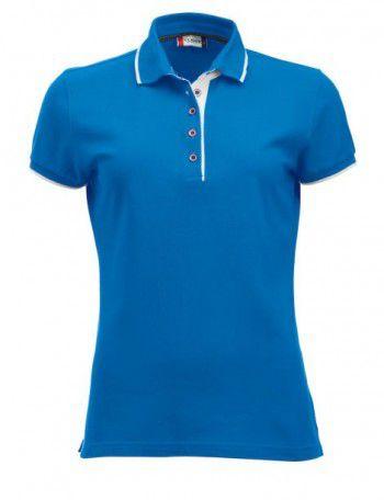 028243 510 Clique Polo Seattle Dames Hemelsblauw