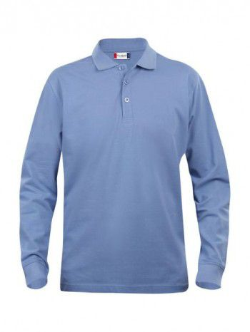 028245 57 Clique Classic Lincoln Lange Mouw Heren licht blauw