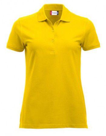 028246 10 Clique Classic Marion lange mouw Dames Lemon