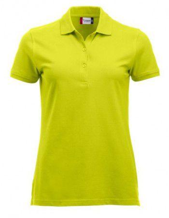 028246 600 Clique Classic Marion lange mouw Dames signaal groen